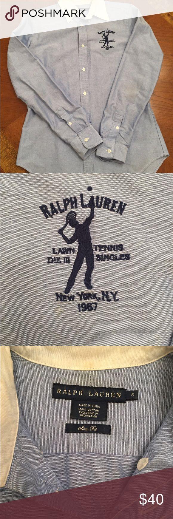Polo Ralph Lauren Slim Fit Button Down Polo Ralph Lauren Slim Fit Button Down in blue. Ralph Lauren Tops Button Down Shirts