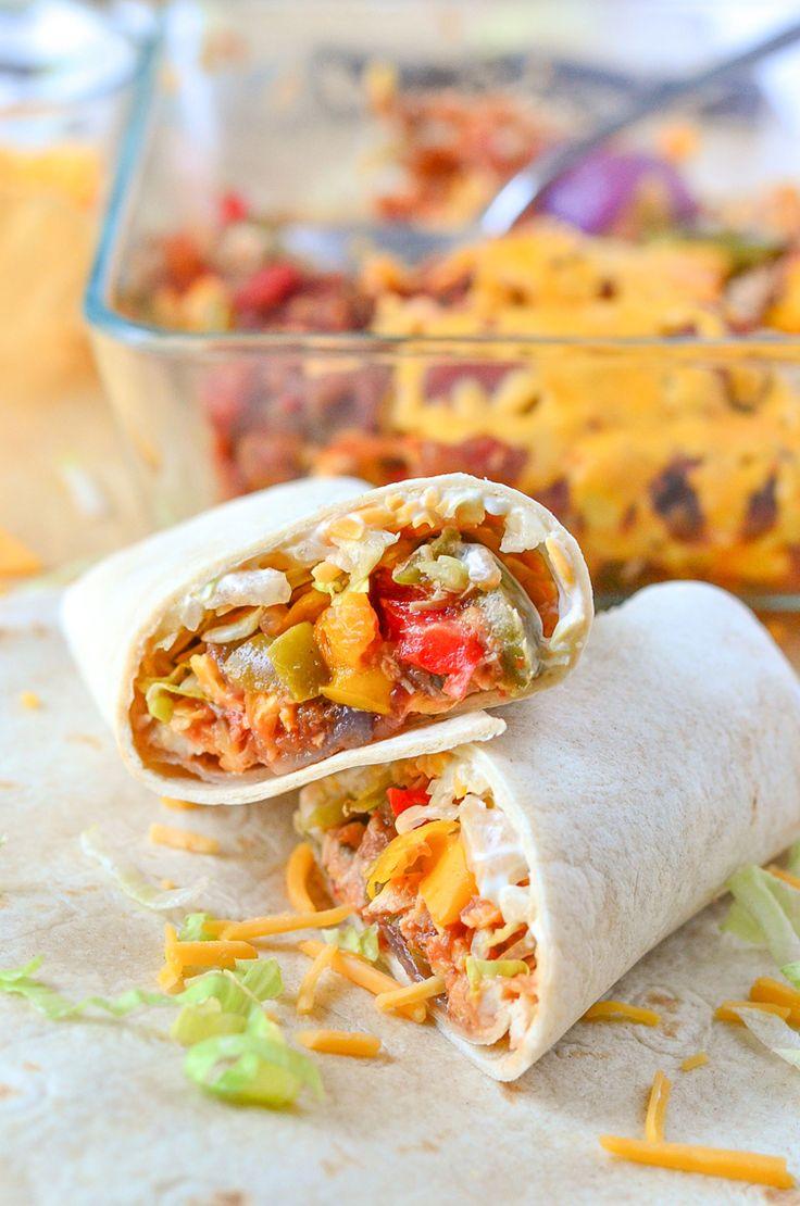 Chipotle Chicken Burritos Recipe | Food Network Kitchen ...