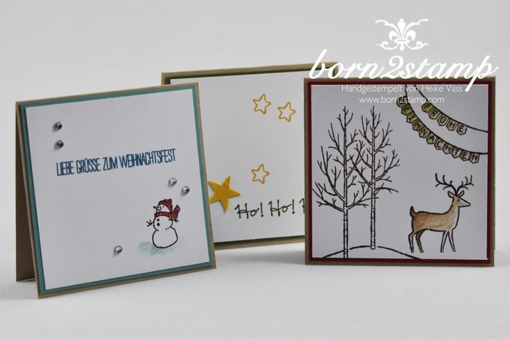 stampin 39 up minik rtchen 3x3 wei e weihnacht gesammelte. Black Bedroom Furniture Sets. Home Design Ideas
