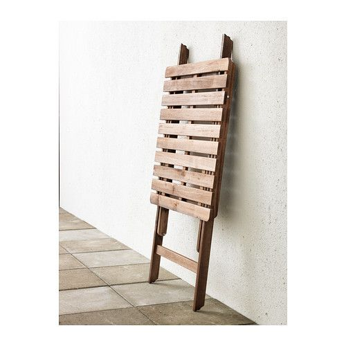 ASKHOLMEN Table IKEA Perfect for your balcony or other small spaces as it can be folded up and put away.