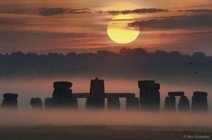 Solstice d'été sur Stonehenge