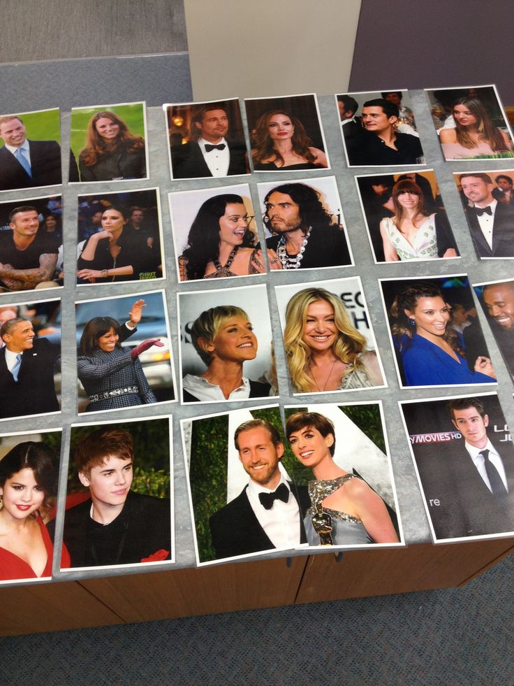 Grouping in Pairs: Celebrity Couples. Give out (or have students pick) a random card and then have to find their partner. #groupingtechniques #partners #TfEL