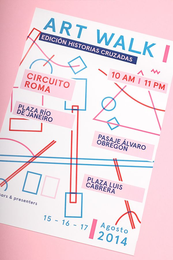 Art Walk Mexico | Crossed Stories on Behance