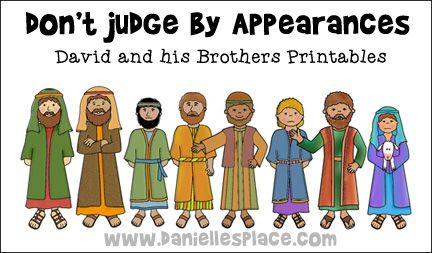 david and his brothers coloring page 595 best images about bible crafts for kids christian