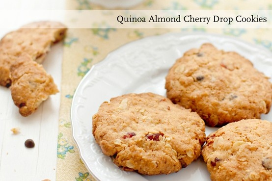 Try adding quinoa to your next batch of cookies with this simple recipe.
