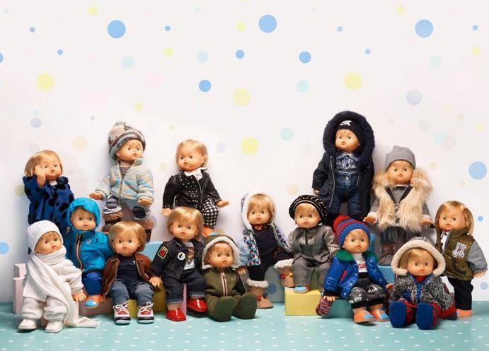 Cicciobello wearing Herno Kids outfit at Pitti Bimbo. A collaboration with @voguebambini @giochipreziosi & @yoox.com #Herno #HernoKids #cicciobellofashionwalk #cicciobellovogliaditenerezza #PittiBimbo #PB82 #Fw16 #VogueBambini #GiochiPreziosi #Yoox