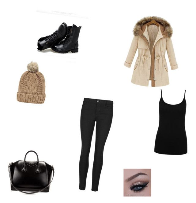 """""""winter day"""" by fabulouschloe on Polyvore featuring M&Co, Indigo Collection, Sunsteps, Givenchy and Chicnova Fashion"""