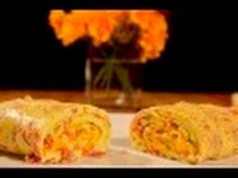 Easy Entertaining 43 Rolled Ham And Cheese Omelette | Apps Directories