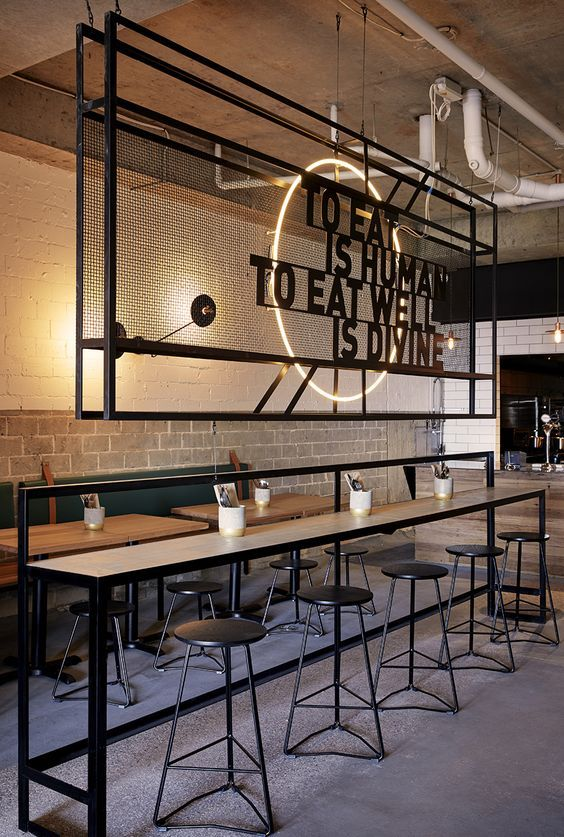 27 best Meat Market images on Pinterest Restaurant design - innenraum gestaltung kaffeehaus don cafe