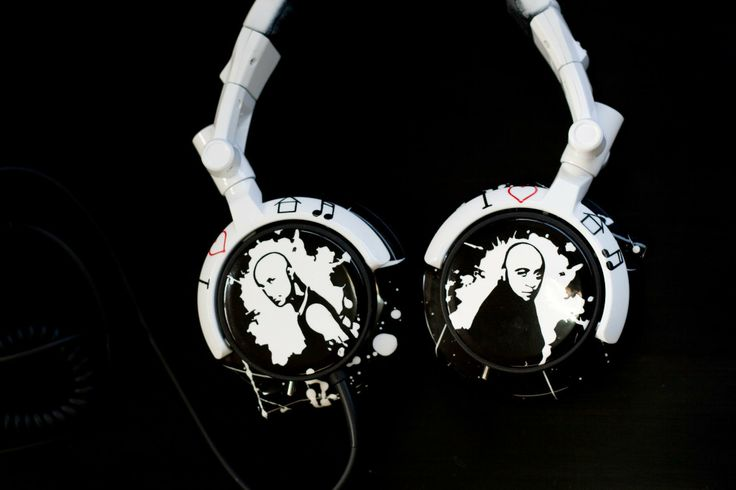 #FernandoBros #DJ #Headphones #Customised #SonyMDV-r