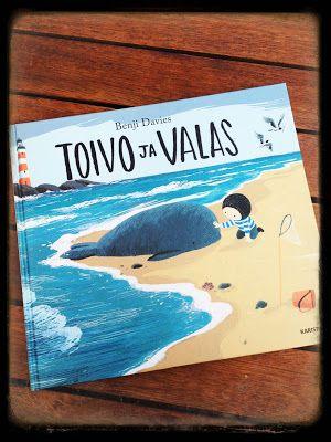 Sininen keskitie: Toivo ja valas, ihastuttava lasten kuvakirja!
