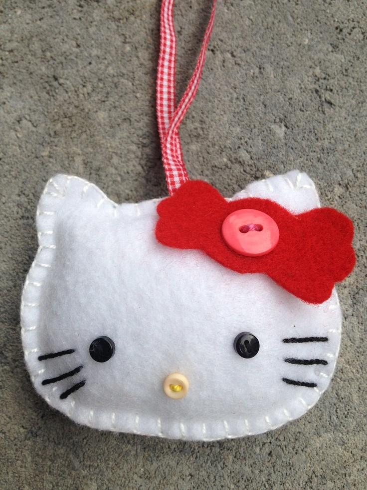 Hello Kitty Ornament/Toothfairy. $7.99, via Etsy.