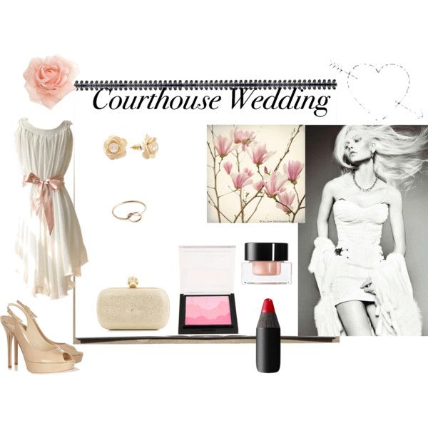 """""""Courthouse wedding"""" by angela1234567 on Polyvore"""