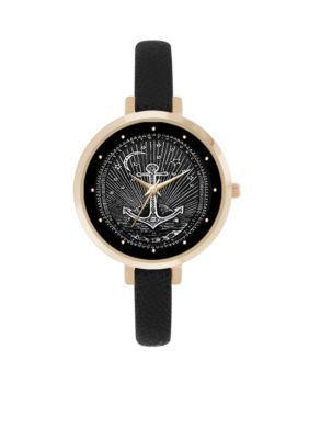 Jessica Carlyle  Womens Starburst Anchor Watch