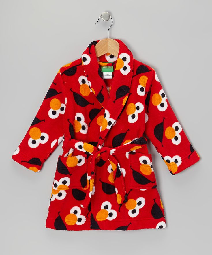 Red Elmo Bathrobe - Toddler | Daily deals for moms, babies and kids