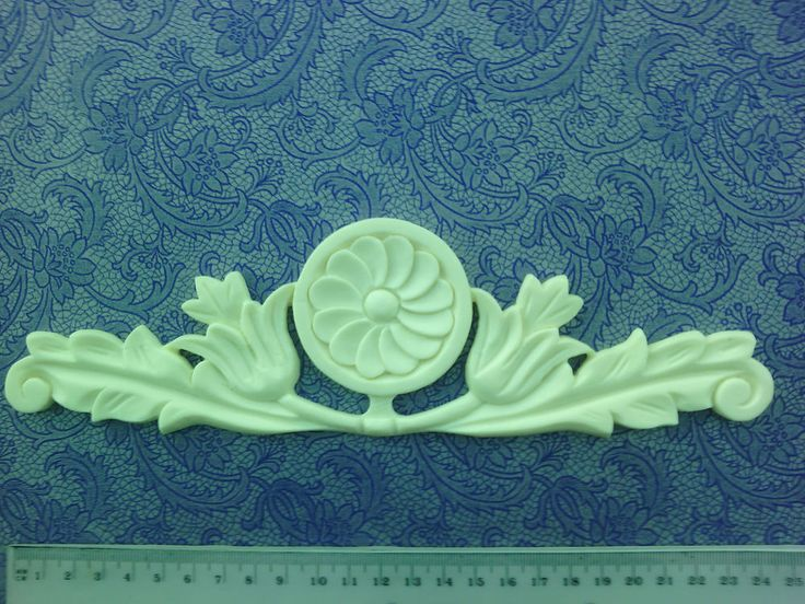SHABBY CHIC FURNITURE MOULDING EDWARDIAN STYLE TULIPS AND LEAVES CODE TL1