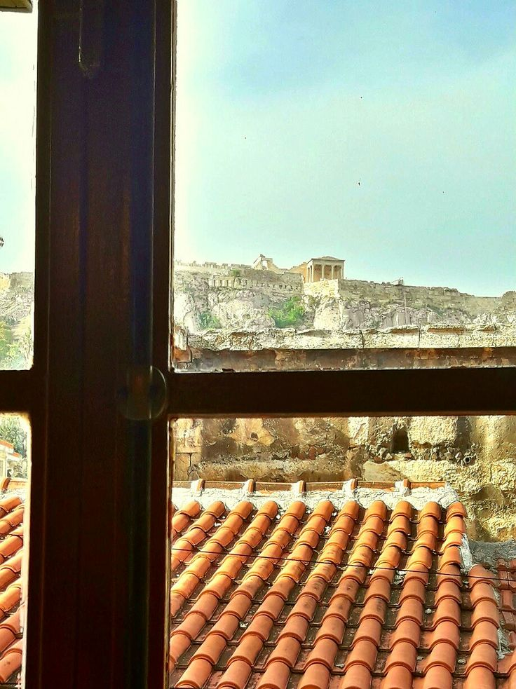 Acropolis window view