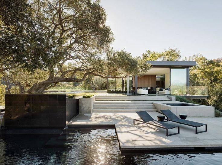 walker workshop oak pass main house beverly hills california designboom