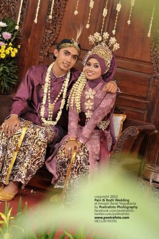Muslim Indonesian wedding