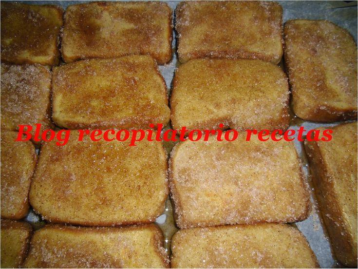 "Recopilatorio de recetas : Torrijas light con thermomix ""Varoma"""