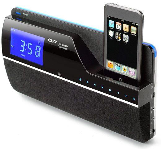 CVT I3101 iPhone Alarm clock, wall mountable.