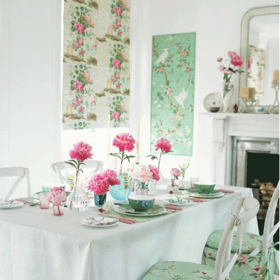 Dining Room Panelled Wall