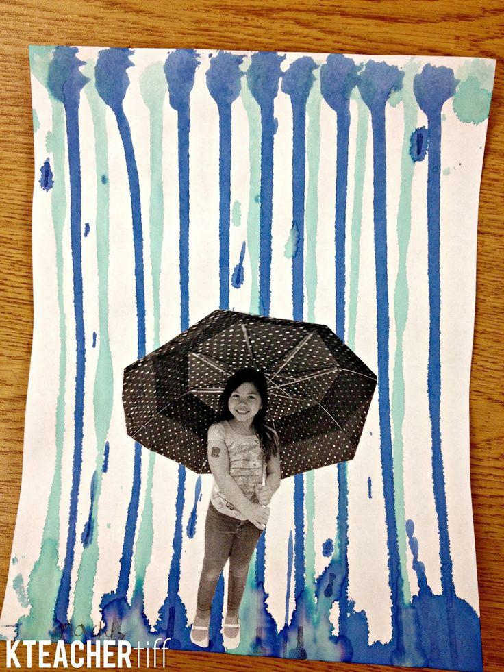 KTeacherTiff: Tuesday Art Linky: Rainy Day Pictures