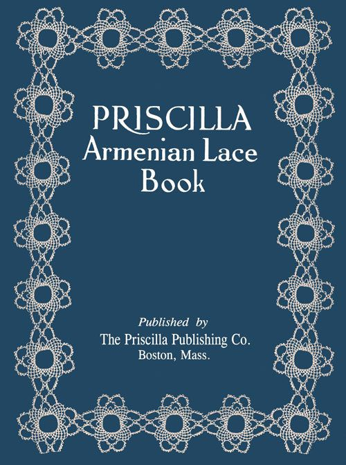Priscilla Armenian Lace c1923 Rare Ethnic Needle Lace by ivarose, $16.95