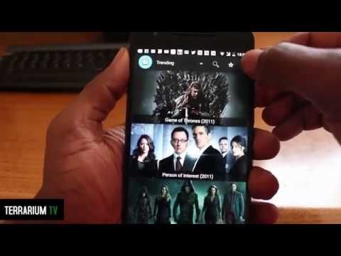 Terrarium TV Apk For Android Devices Stream Movies and