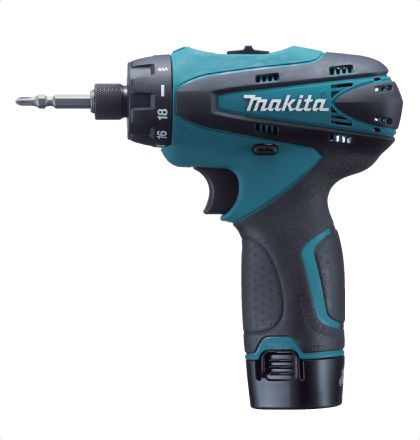 Makita DF030DWE Cordless Drill Drivers     Lightweight and compact but with 2-speed gear selection.     Ergonomically designed handle shape for comfortable gripping.     LED job light with after glow function.     High operation efficiency with 10.8V Li-ion battery. For More Details: http://www.mrthomas.in/makita-df030dwe-cordless-drill-drivers_2