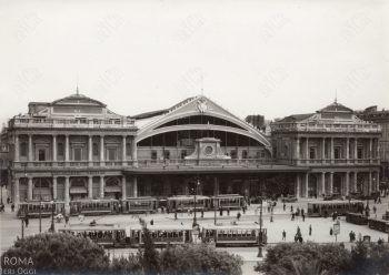 Facciata vecchia Stazione Termini anni '30
