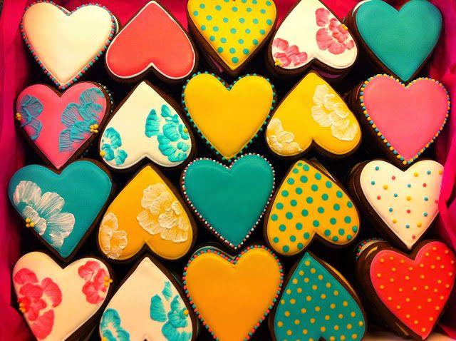 Galletas corazones II