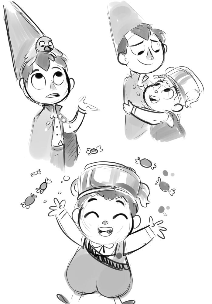 Sharp Art - I watched Over the Garden Wall and it was both...