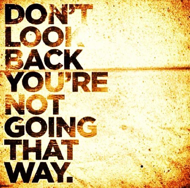 Non guardare indietro... Li ci sei già stato