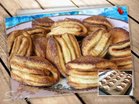 Hrnčekové recepty: Skladané tvarohové koláčiky.