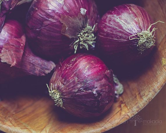 red onion photograph, onion, kitchen wall art, condiment, rustic, red, burgandy, purple, colorful, food photograph  on Etsy, $35.01 AUD