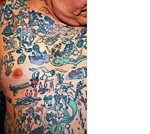 From the sang bleu archive george reiger is the only for Sang bleu tattoo