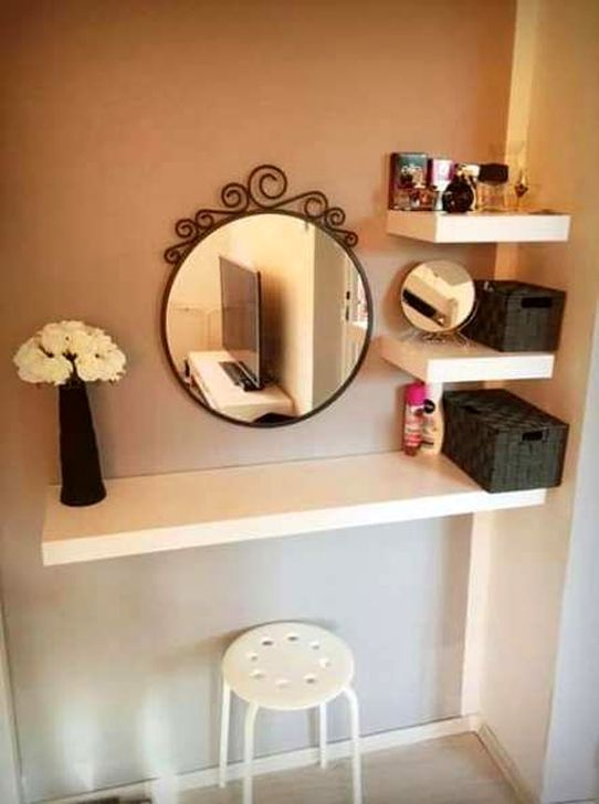 30+ Stunning Makeup Room Design Ideas In Your Small Space