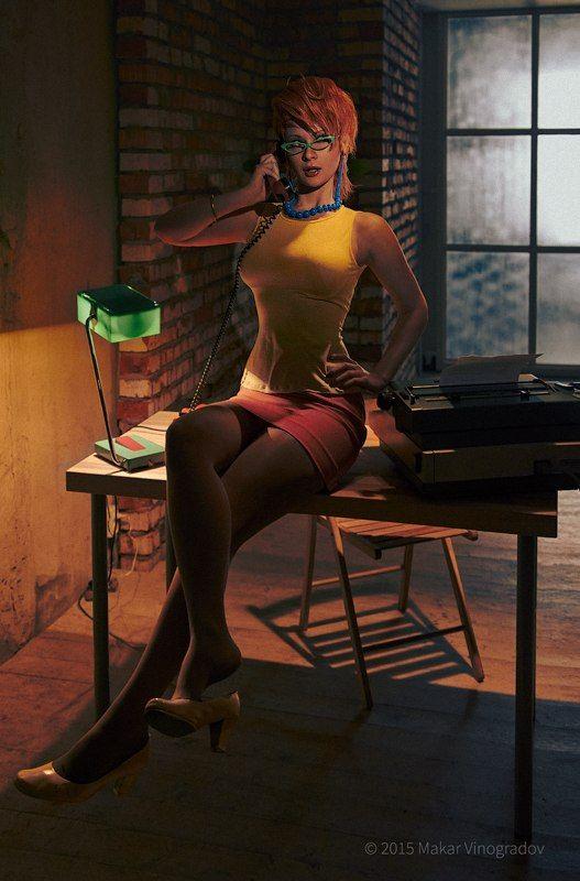 Gallery: Janine Melnitz cosplay | GhostbustersNews.com