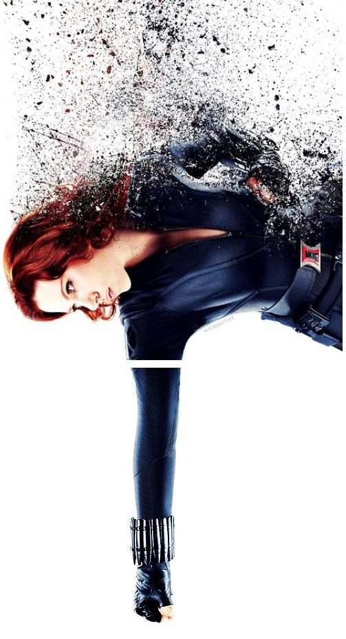 "Natasha Romanoff ""I only pretend to know everything."""