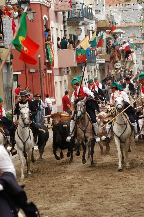 Colete Encarnado - Vila Franca de Xira | Portugal O Colete Encarnado é a maior festa Ribatejana (Portugal) .
