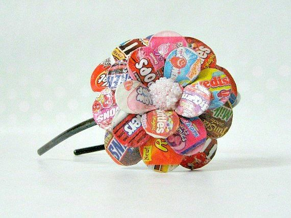 Hey, I found this really awesome Etsy listing at https://www.etsy.com/listing/92475638/candy-shop-daisy-paper-mache-headband