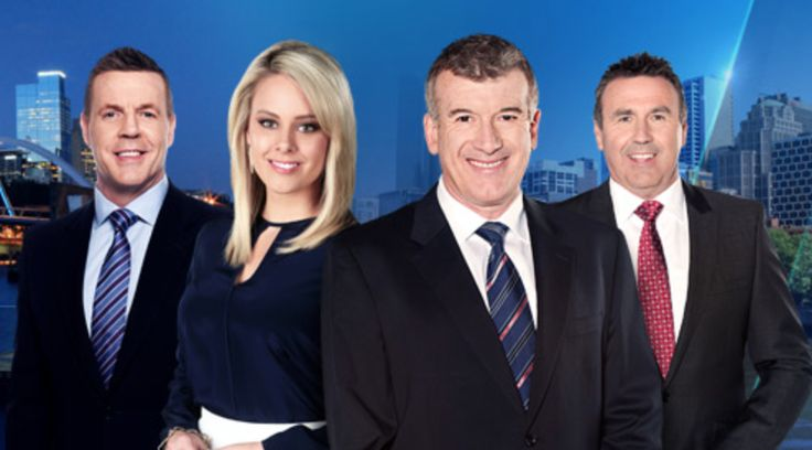 TEN Eyewitness News Team. Hair & Makeup by Alisia Ristevski.