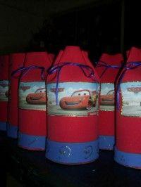 ideas de decoración fiesta cars rayo mcqueen - Fiestaideasclub.com