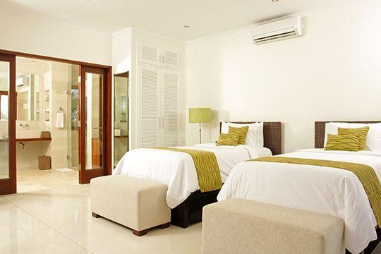Villa Asante - Twin bedroom - Canggu