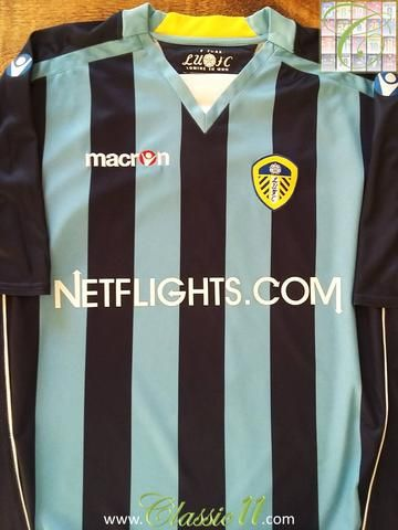 Relive Leeds United's 2008/2009 season with this original Macron away football shirt.