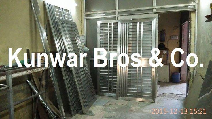 Stainless Steel doors manufacturer and supplier in Noida, www.kunwarbros.com