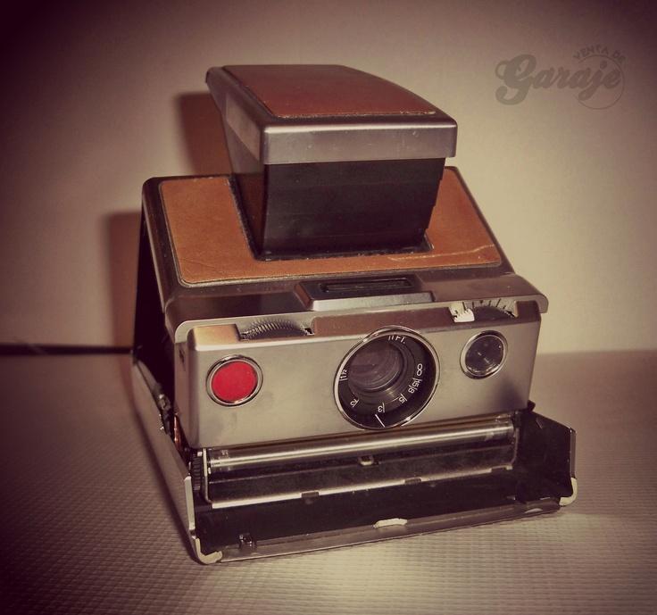 Cámara Instantánea Polaroid  SX-70 Land Camera   #ventadegaraje #polaroid #Polaroidmexico #fotografia #vintage https://www.facebook.com/ventadegarajemx