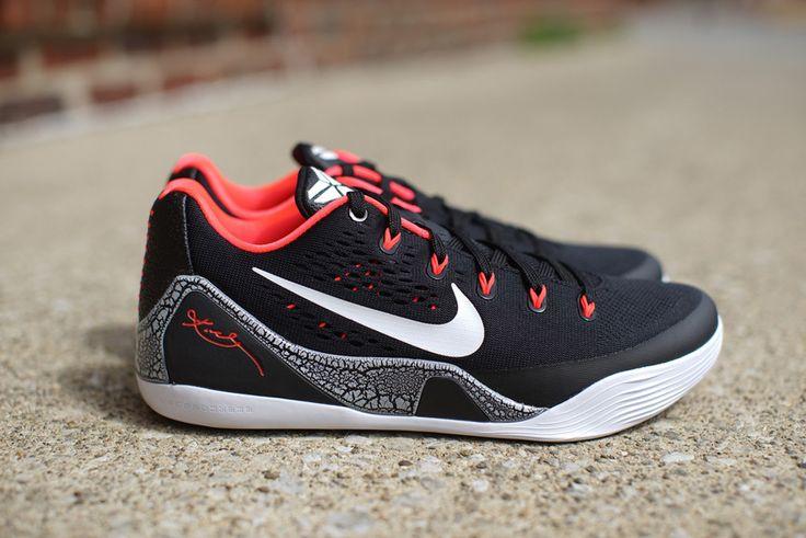 Nike Kobe 9 EM 'Laser Crimson' (Detailed Pics & Release Info)