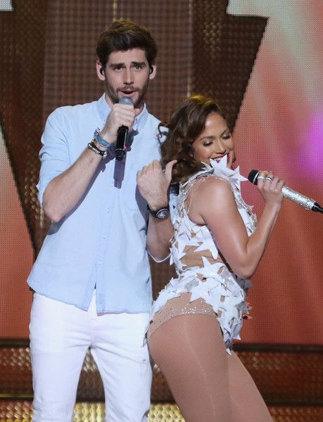 Jennifer Lopez and Alvaro Soler host iHeartRadio Fiesta Latina.
